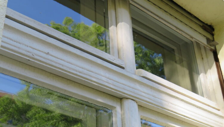 Fenster Gartenvilla